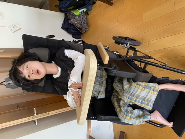 大和証券・車いす購入費助成事業報告・中川の写真01